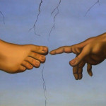 """Hand to Foot"" painting by Dr. David D Carrozzino DPM"